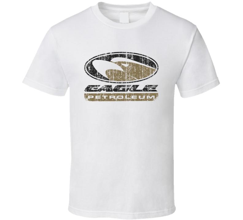 Eagle Auto Fluids Gas Motor Oil Fuels Cool Worn Look T Shirt