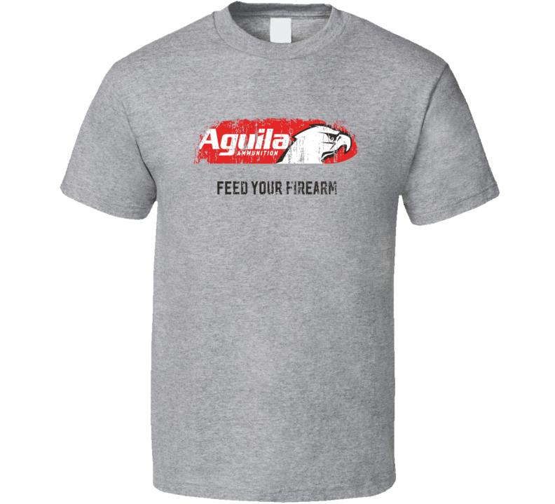 Aguila Hunter Bear Deer Hunting Gear Cool Worn Look T Shirt