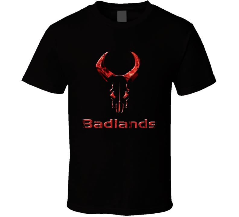 Badlands Hunter Bear Deer Hunting Gear Cool Worn Look T Shirt