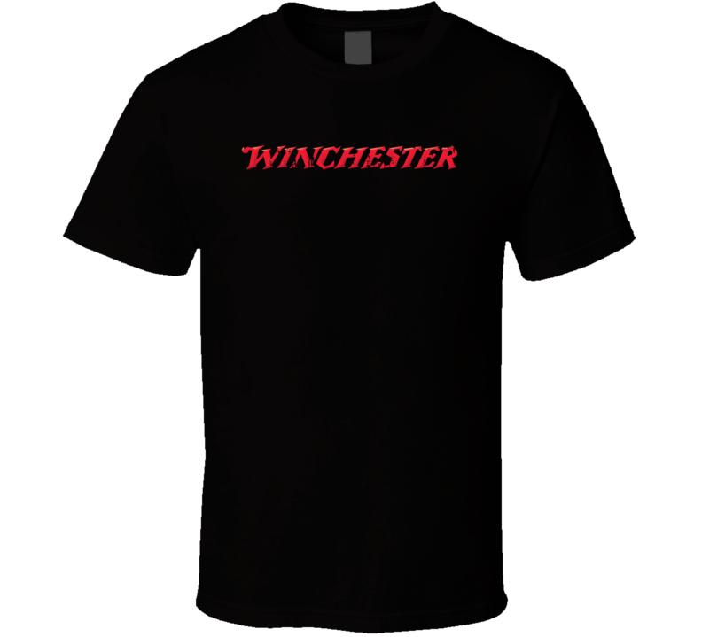 Winchester Hunter Bear Deer Hunting Gear Cool Worn Look T Shirt