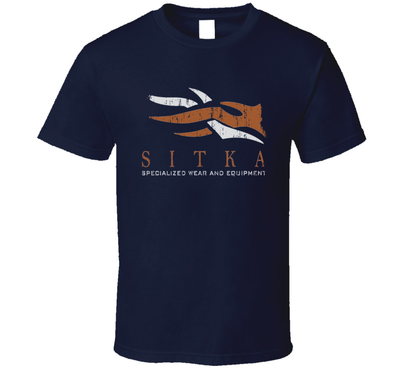 Sitka Hunter Bear Deer Hunting Gear Cool Worn Look T Shirt