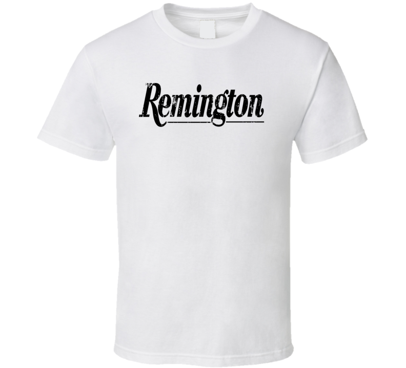 Remington Hunter Bear Deer Hunting Gear Cool Worn Look T Shirt
