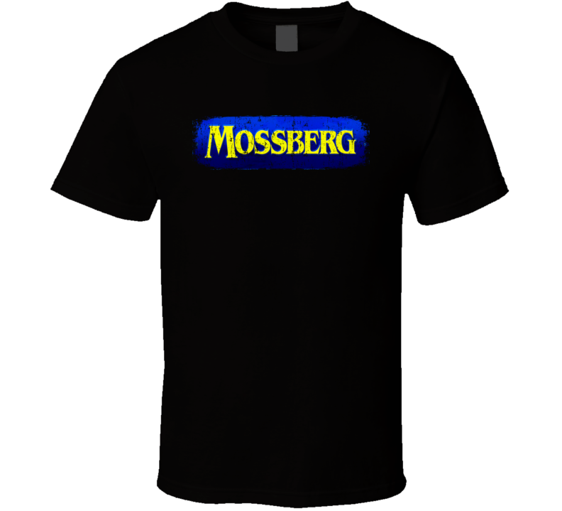 Mossberg Hunter Bear Deer Hunting Gear Cool Worn Look T Shirt