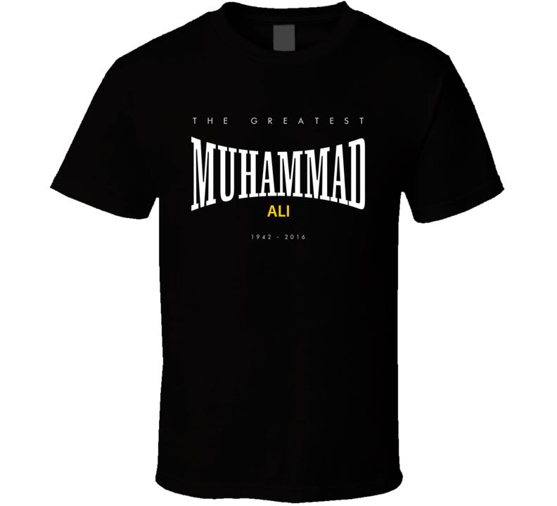 RIP Muhammad Ali 2016 Greatest Boxer Everlasting Faded Look T Shirt