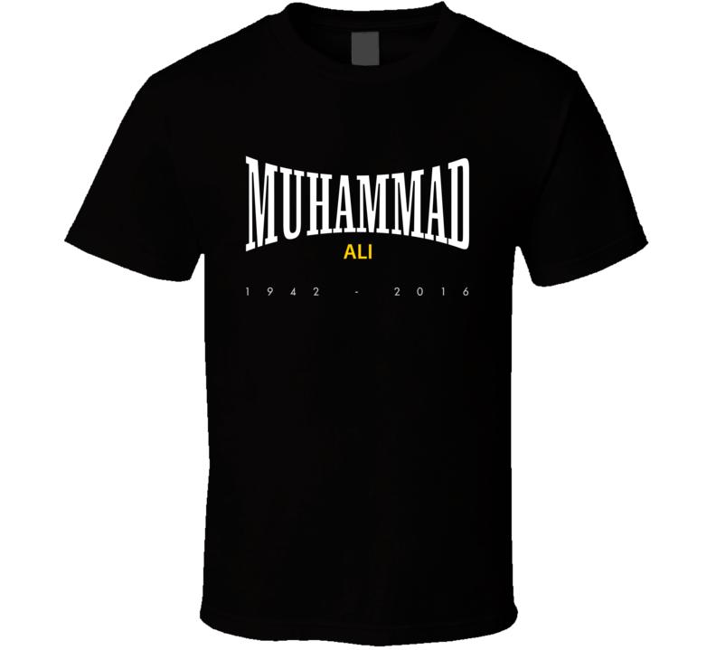 RIP Muhammad Ali 2016 Greatest Boxing Everlasting Faded Look T Shirt