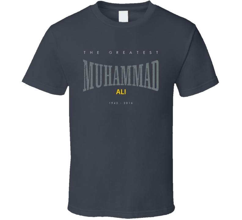 RIP Muhammad Ali Greatest 2016 Boxing Everlasting Worn Look T Shirt