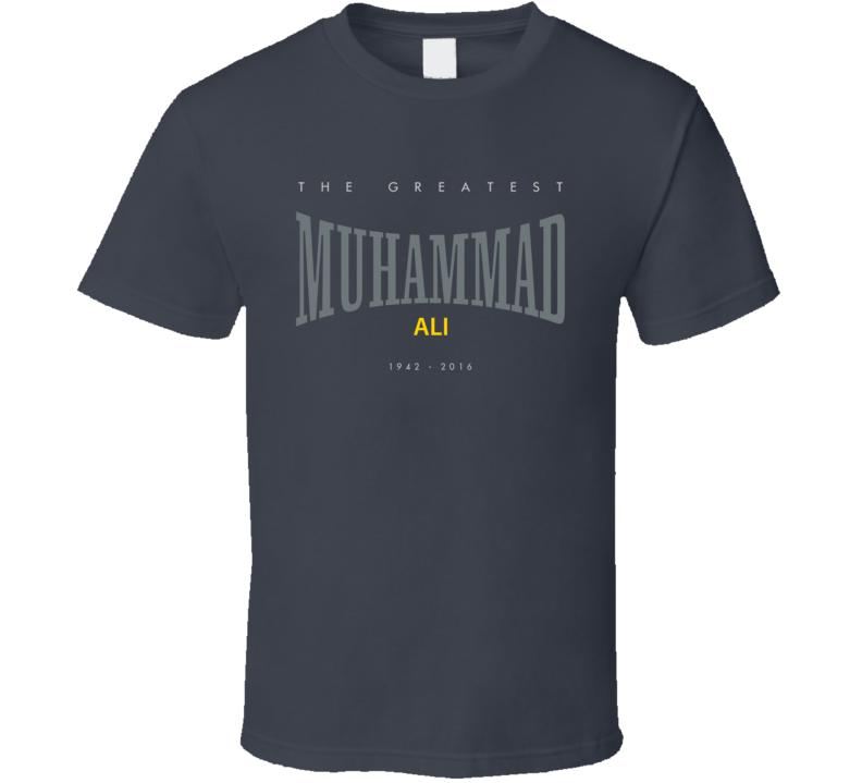 RIP Muhammad Ali Greatest 2016 Boxing Everlasting Faded Look T Shirt