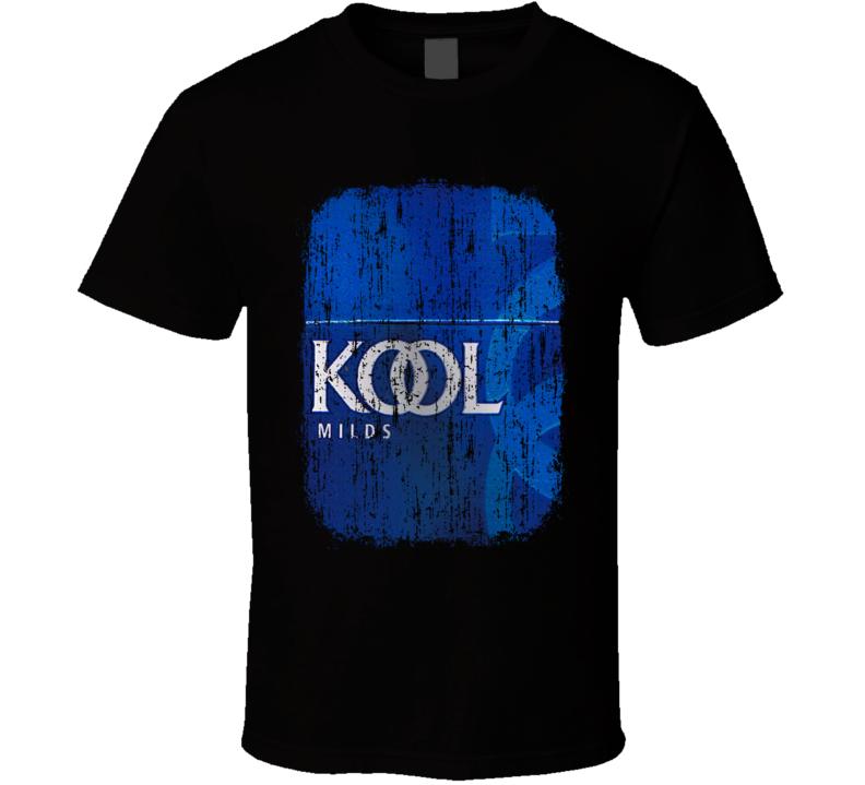 Kool India Cigarette Smoker Fathers Day Worn Look Cool T Shirt
