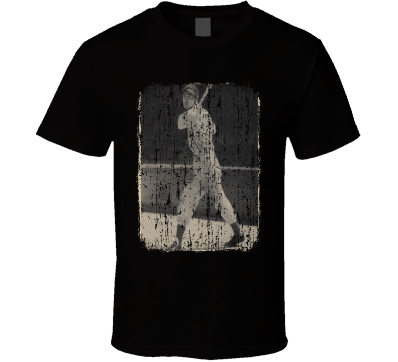 1939 Ted Williams Vintage Baseball Trading Card Worn Look Cool T Shirt