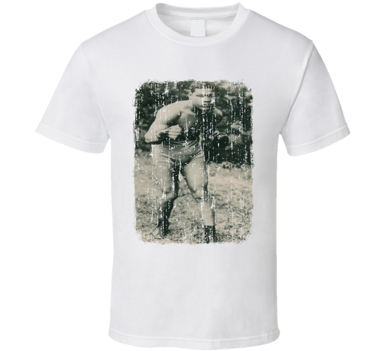 1935 Joe Louis Vintage Boxing Trading Card Worn Look Cool T Shirt