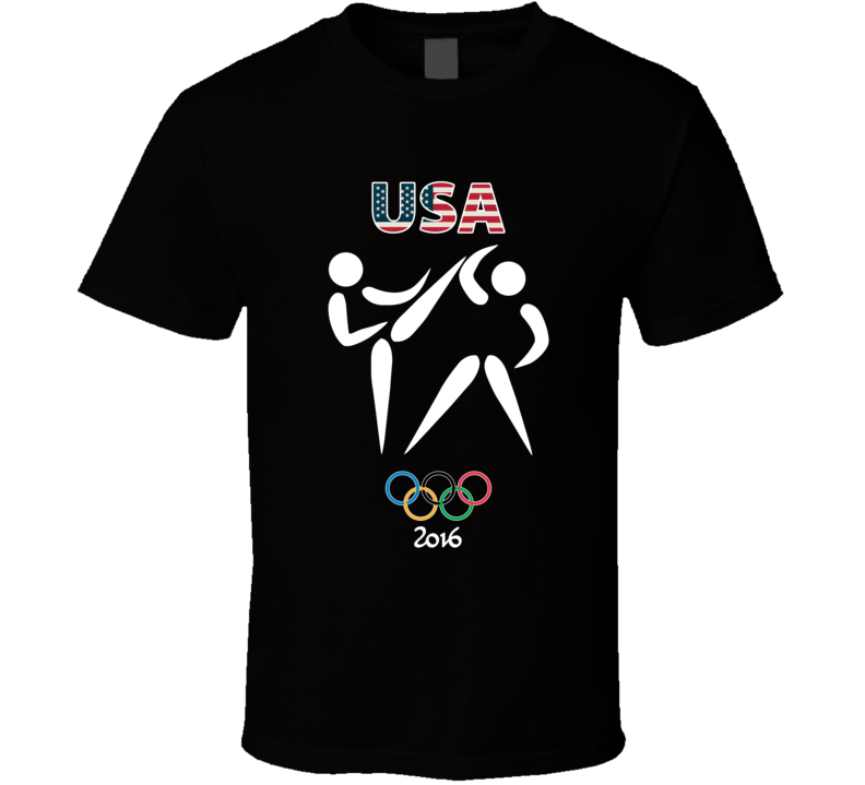 Team USA Taekwondo Champion Rio 2016 Olympic Gold Athlete Fan T Shirt
