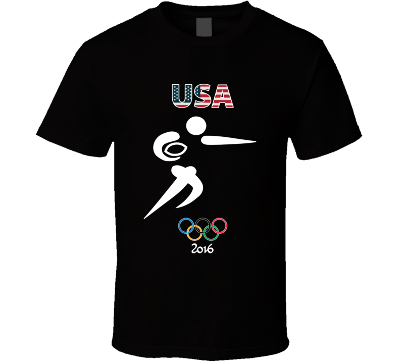 Team USA Rugby Champion Rio 2016 Olympic Gold Athlete Fan T Shirt