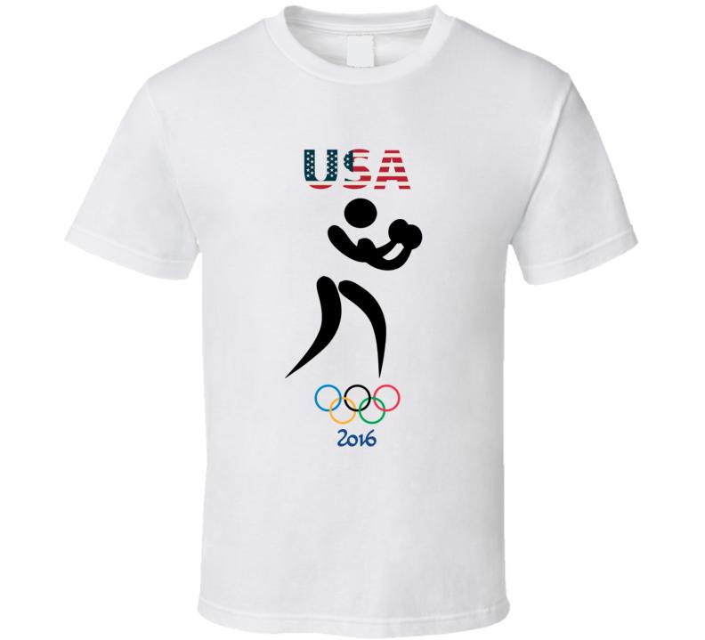 Team USA Boxing Champion Rio 2016 Olympic Gold Athlete Fan T Shirt