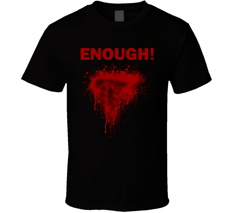 Enough Chest Blood Wound Inspired by Lenny Kravitz Faded Look T Shirt