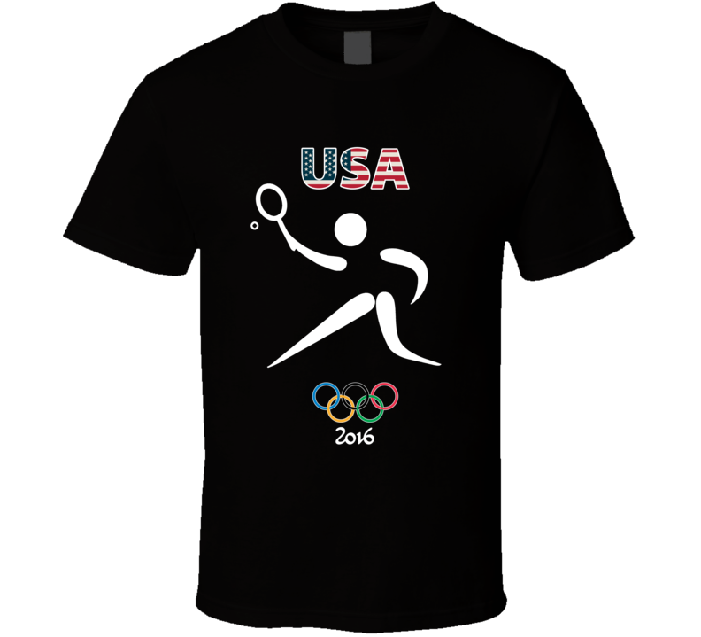 Team USA Tennis Champion Rio 2016 Olympic Gold Athlete Fan T Shirt