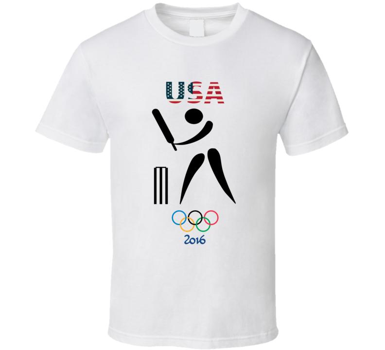 Team USA Cricket Champion Rio 2016 Olympic Gold Athlete Fan T Shirt