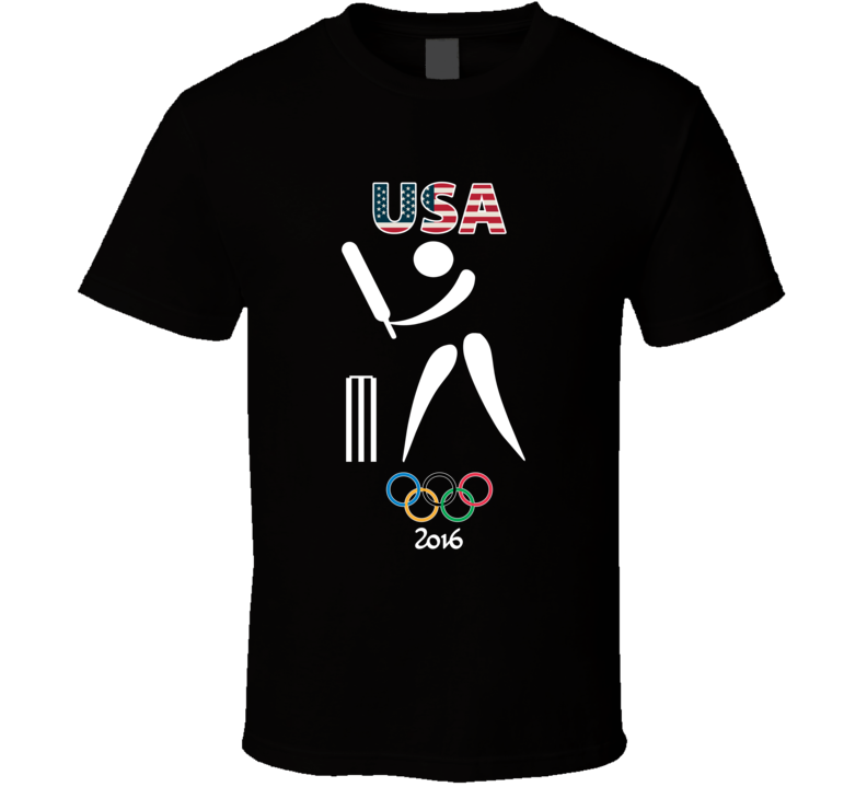 Team USA Cricket Champion Rio 2016 Olympic Gold Athlete Fan T Shirt