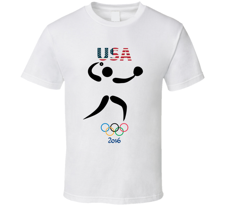 Team USA Softball Champion Rio 2016 Olympic Gold Athlete Fan T Shirt