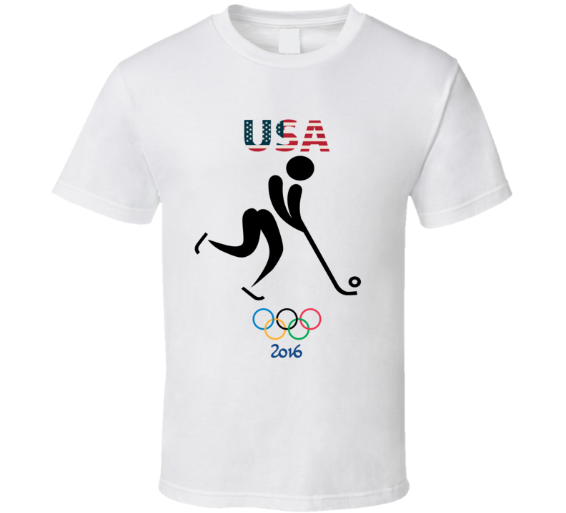 Team USA Bandy Champion Rio 2016 Olympic Gold Athlete Fan T Shirt