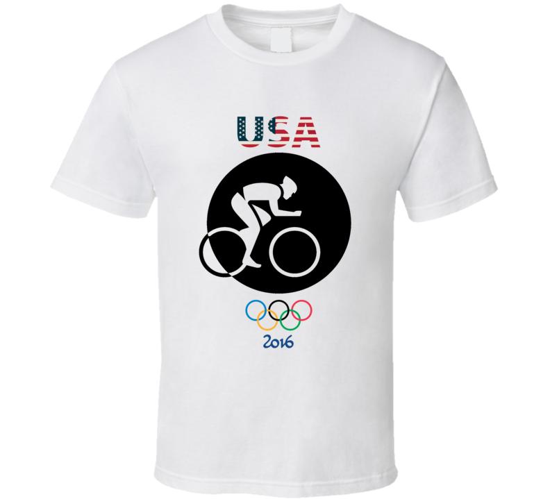 Team USA Cycling Champion Rio 2016 Olympic Gold Athlete Fan T Shirt