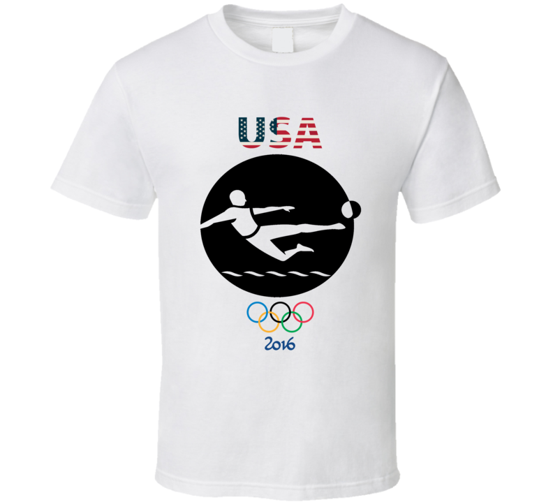 Team USA Soccer Champion Rio 2016 Olympic Gold Athlete Fan T Shirt