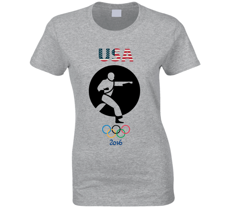 Team USA Karate Champion Rio 2016 Olympic Gold Athlete Fan T Shirt Team Canada Karate Champion 2016 Olympics Gold Athlete Fan T Shirt Team GB Karate Champion Rio 2016 Olympics Gold Athlete Fan T Shirt Team USA Karate Champion Rio 2016 Olympics Athlete Fan