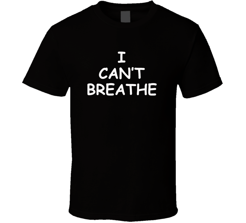 I Can't Breathe Worn by Kobe Bryant Cool Basketball Faded Look T Shirt