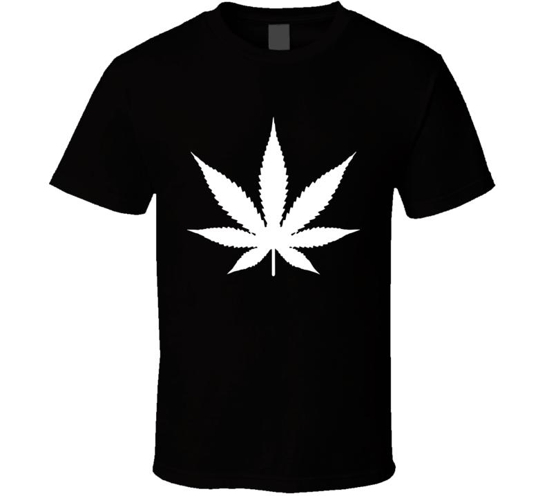 Marijuana Leaf Worn by Rihanna Singer Cool Legalize Weed T Shirt