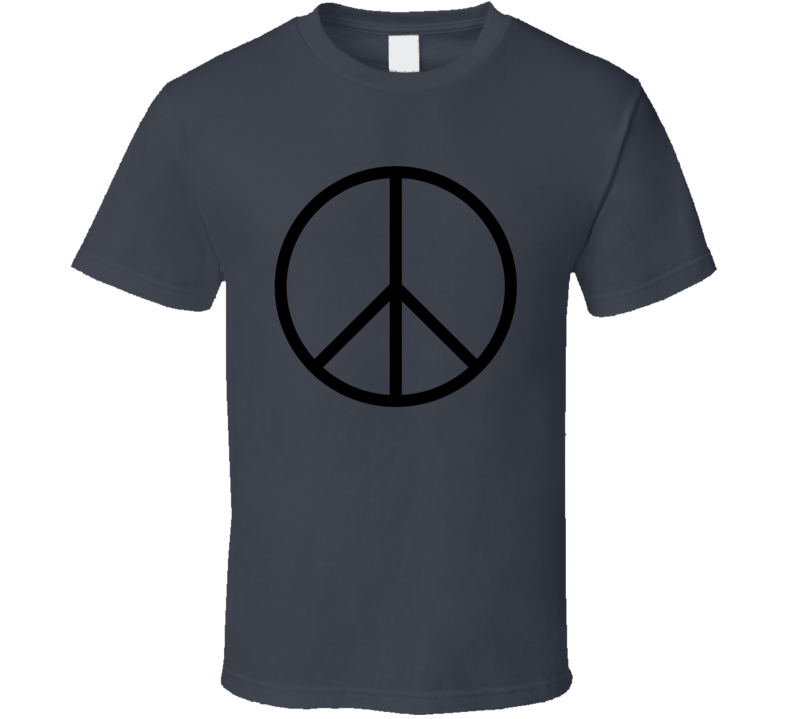 Nuclear Disarmament Worn by Malia Obama Cool Faded Look T Shirt