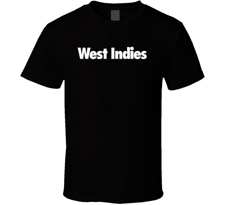 West Indies Worn by Rihanna Singer Cool Faded Look Music T Shirt