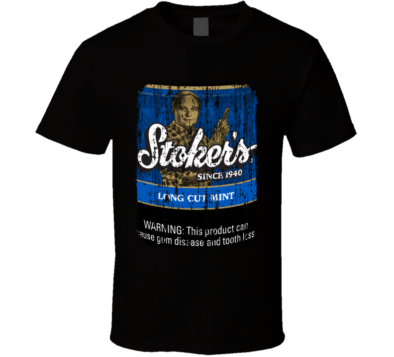 Stokers Mint Chewing Tobacco Worn Look Cool Father Gift T Shirt