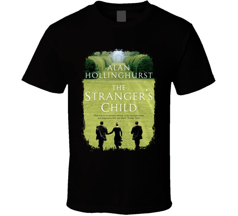 Alan Hollinghurst Stranger Child Author Poster Worn Look T Shirt