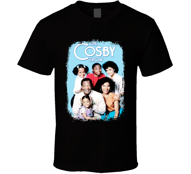 The Cosby Show Tribute Poster Celebrity  Worn Look Movie T Shirt
