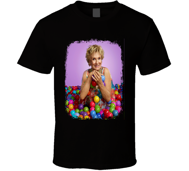 Cloris Leachman Actress Tribute Poster Worn Look Movie T Shirt