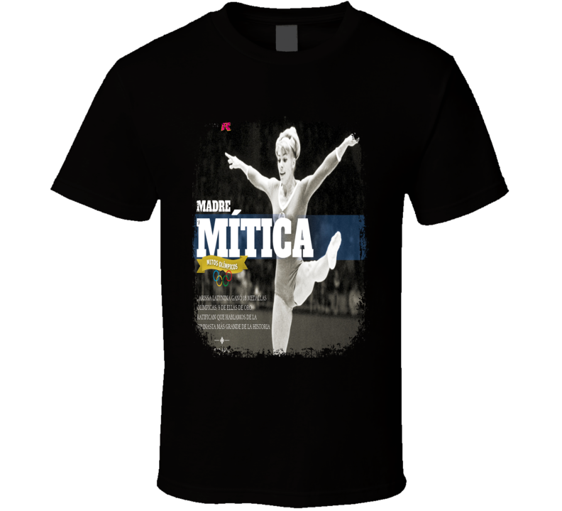 Larisa Latynina Gymnastics Olympic Tribute Poster Worn Look T Shirt
