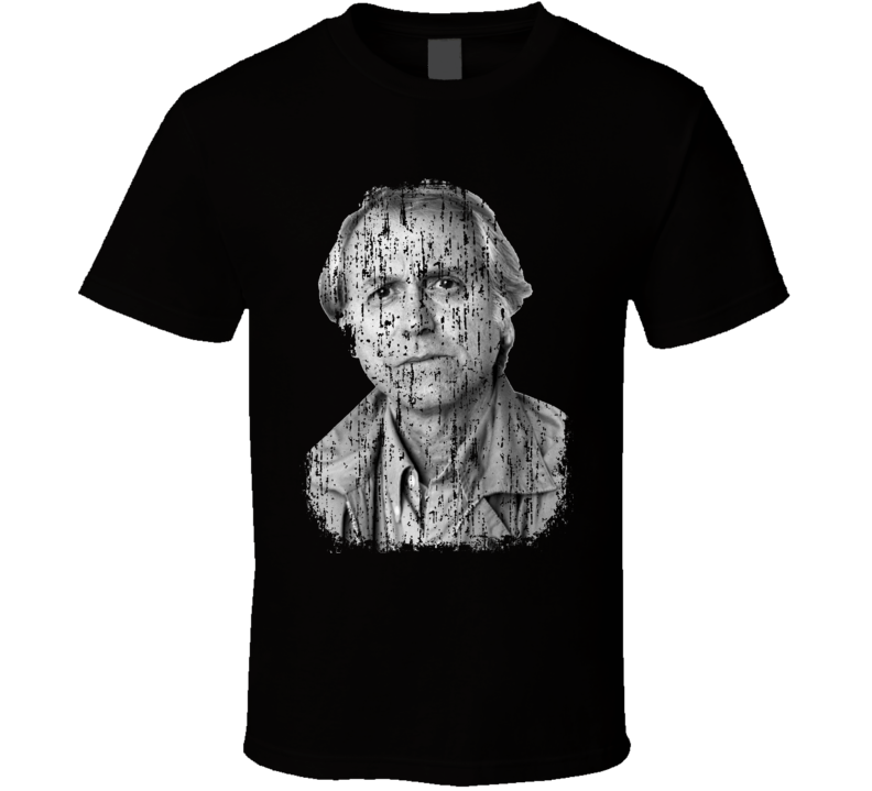 Don DeLillo Zero KAuthor Tribute Poster Worn Look Cool Writers T Shirt