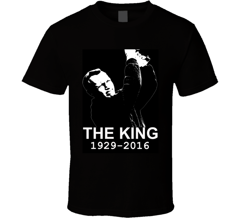 Arnold Palmer The King RIP Golf Legend Tribute Faded Look T Shirt