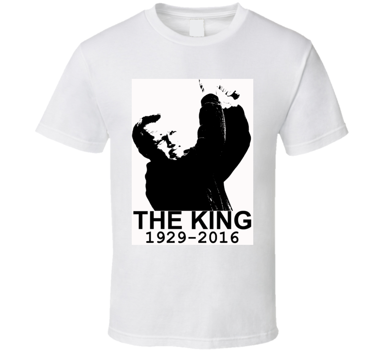 Arnold Palmer The King Golf RIP Legend Tribute Faded Look T Shirt