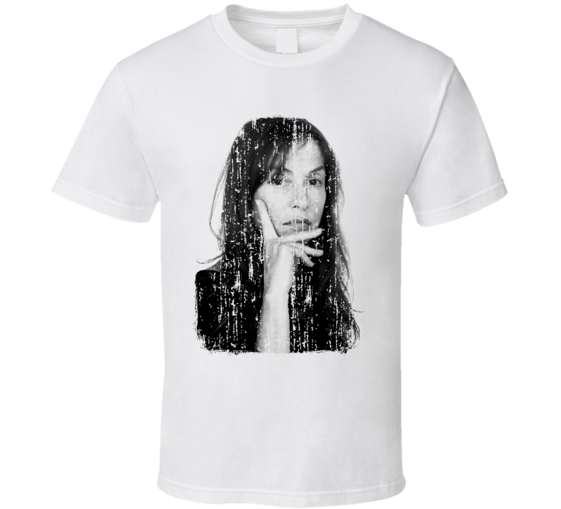 Isabelle Huppert Actress Tribute Poster Worn Look Movie T Shirt