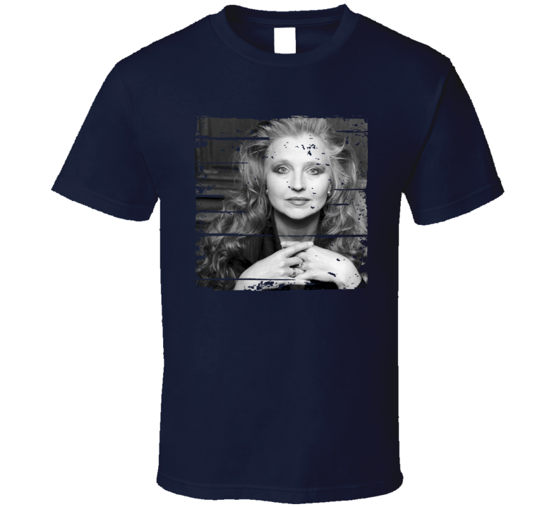 Hanna Schygulla Actress Tribute Poster Worn Look Movie T Shirt