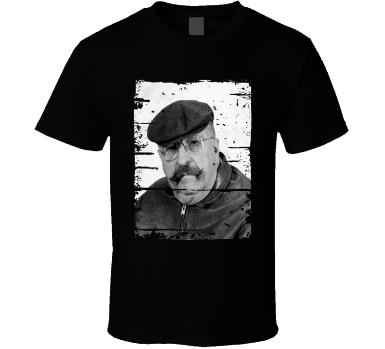 Gene Wolfe Author Tribute Poster Worn Look Cool Writers T Shirt