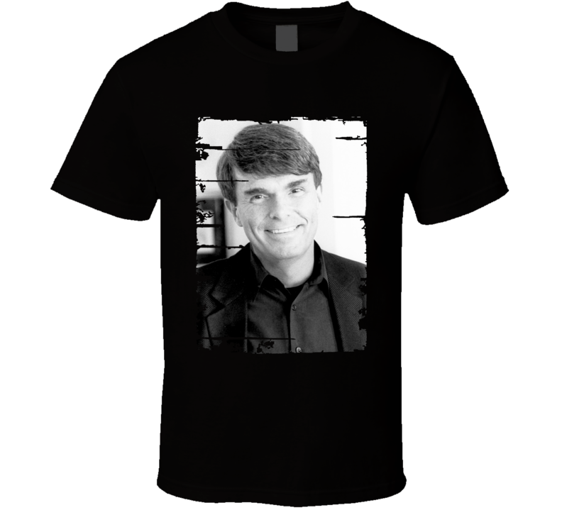 Dean Koontz Author Tribute Poster Worn Look Cool Writers T Shirt
