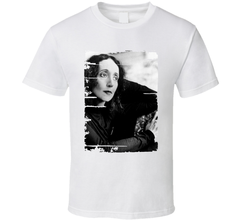 Joyce Carol Oates Author Tribute Poster Worn Look Cool Writers T Shirt