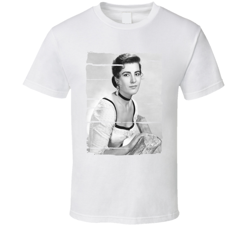 Irene Papas Actress Celebrity Tribute Poster Worn Look Movie T Shirt