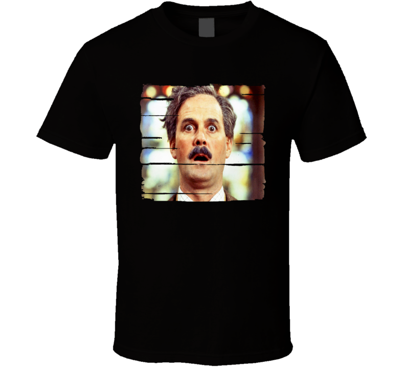 John Cleese Actor Celebrity Tribute Poster Worn Look Movie T Shirt