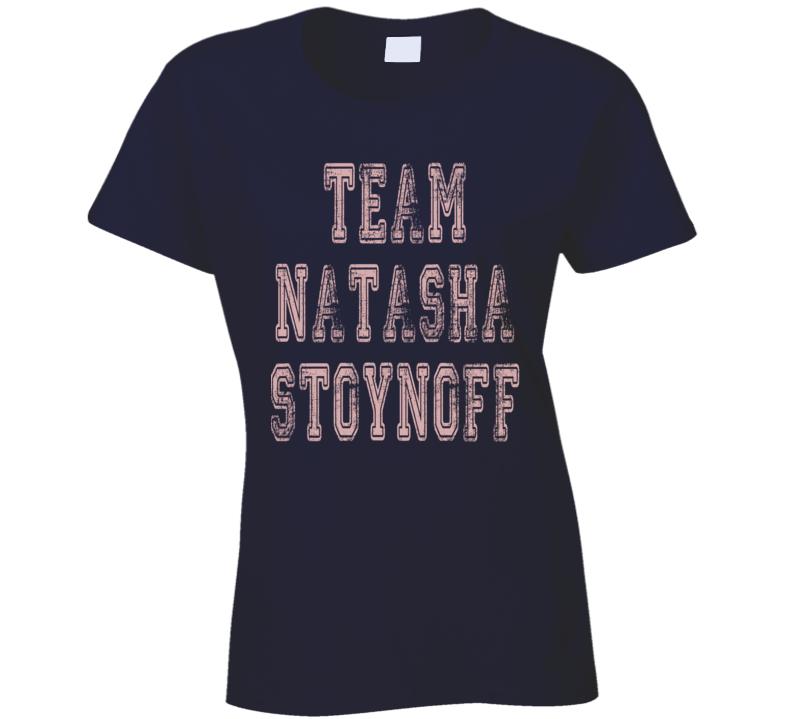 Team Natasha Stoynoff People Magazine Trump Worn Look Ladies T Shirt