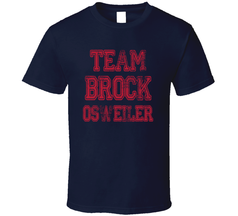 Team Brock Osweiler Texans Football Fan Worn Look Cool Sports T Shirt