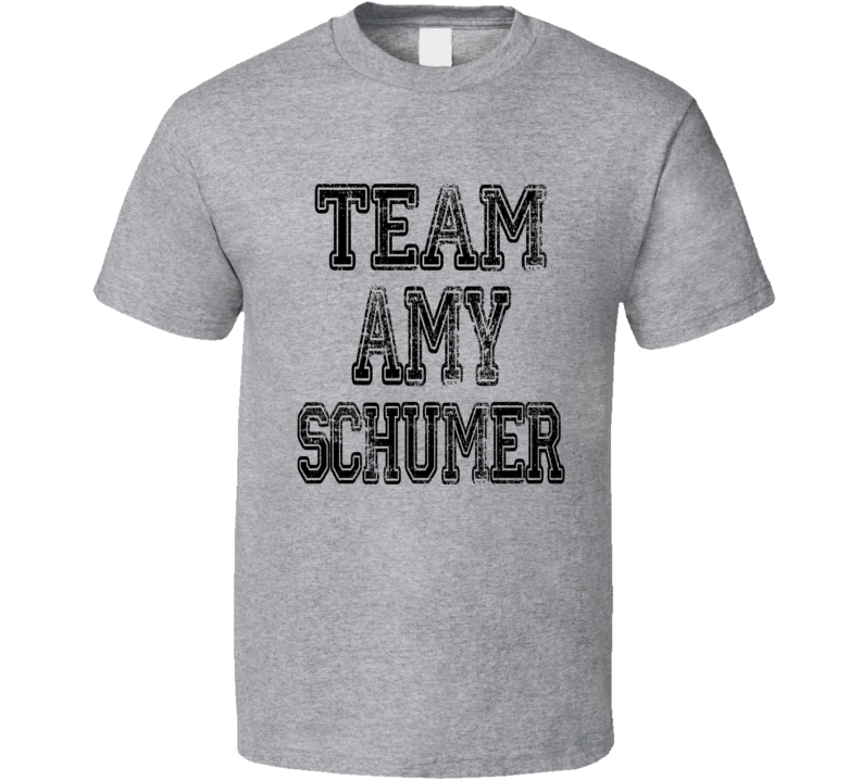Team Amy Schumer Comedy Central Donald Trump Roast Worn Look T Shirt