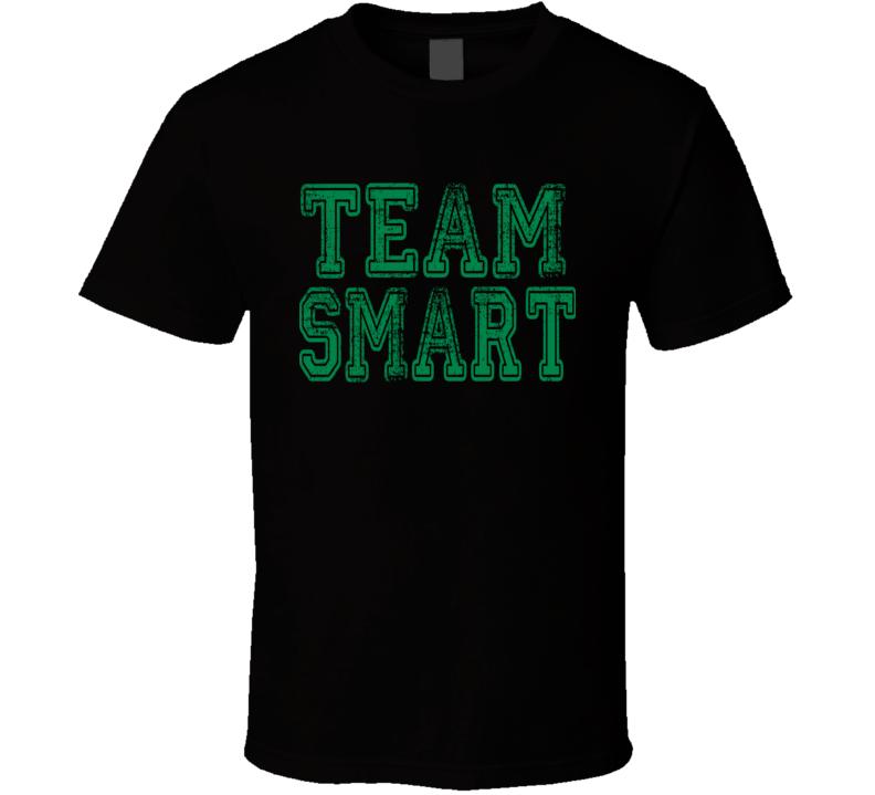 Team Smart Boston Basketball Player Fan Worn Look Cool Sports T Shirt