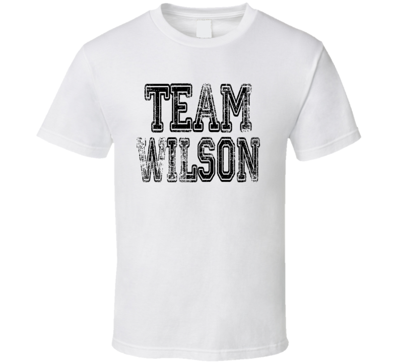 Team Wilson Cincinnati Football Player Fan Worn Look Sports T Shirt